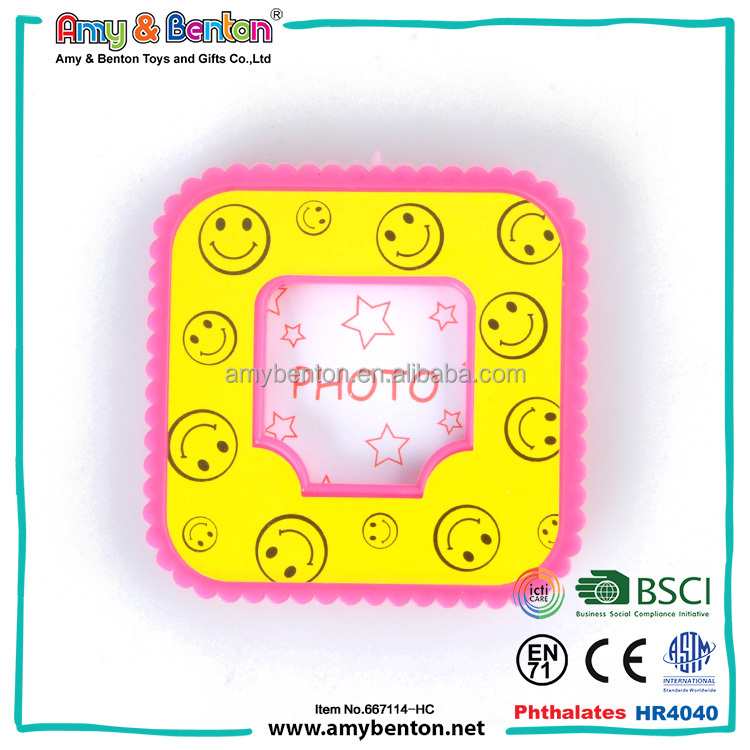 Best Selling Pocket Small Plastic Craft Photo Frame