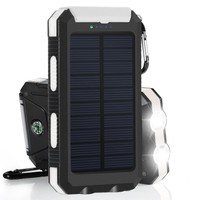 Portable PowerGreen Solar Charger 10000mAh Mini Solar Panel for Iphone 6s