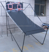 "7/8"" Portable Basketball Frame For Game PDF Backboard and Net/metal factory"
