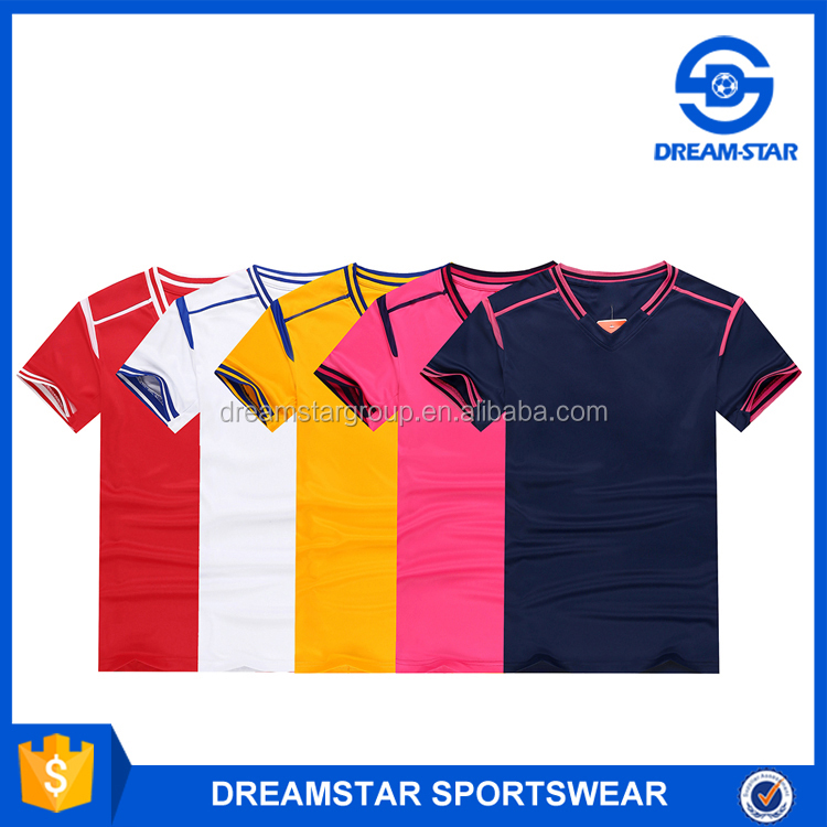 Embroidered Logo Team Polyester Football Training Uniform