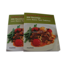 High Quality Printing Service for Cookbook, Wholesale Cheap Softcover Books