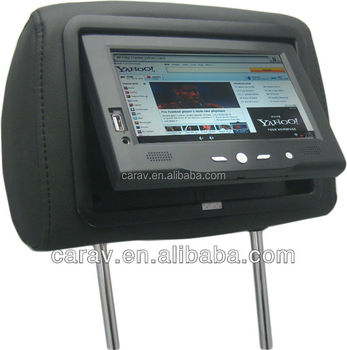 advertising headrest android car pc touch screen