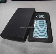 credit card holder/ printing sticker with epoxy card case set