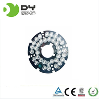 Video Surveillance Infrared Led Board IR Led F8 Light Board 90 CCD Case 36 Led Lamp CCTV Camera Installation Accessories
