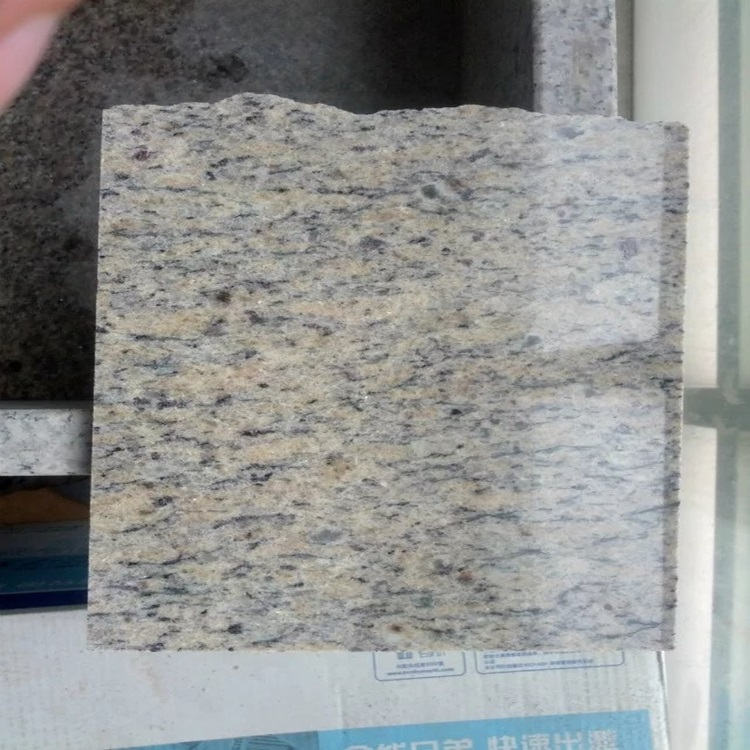 natural gold color granite yellow Giallo Cecilia polished finished in cut to size tile and San Francisco slab export all country