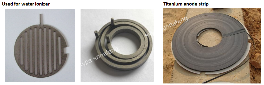 platinum coated titanium anode
