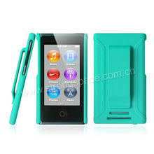 Dual color Rubberized Protect Shell Case for iPod Nano 7