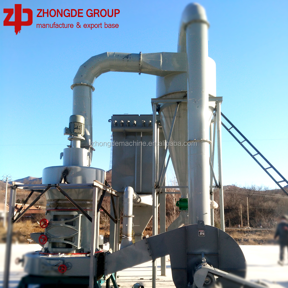 calcium carbonate vertical grinding mill gypsum milling machine Raymond mill
