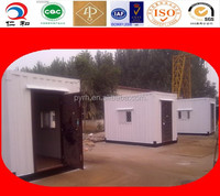 Flat pack modular container house