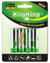 2500mah NH AA Batteries/Cells Packs for electronic cigarrate