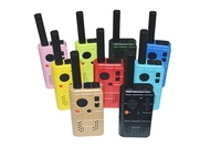Small Size Blue Voice Encryption Provider 2W UHF the kids walkie talkie