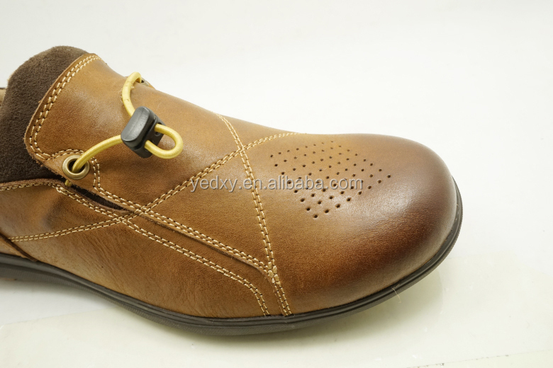 Fashion Boat Shoe Casual Style Leather Mens Flat Sole