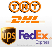 Lowest price DHL TNT UPS EMS/Transit air freigth air cargo shipments courier express to San Marino/Slovenia/Spain from china