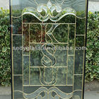 building glass in unique desig for windows,doors or decoration