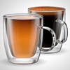 Hot Selling Promotional Gift 350Ml Double Wall Glass Coffee Cups/Mugs