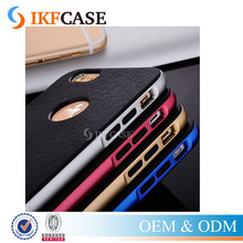 uxury 2 in 1 PC Plating Chrome Frame + Hard Back Case For iPhone 5 5S SE Plastic + TPU Phone Back Cover