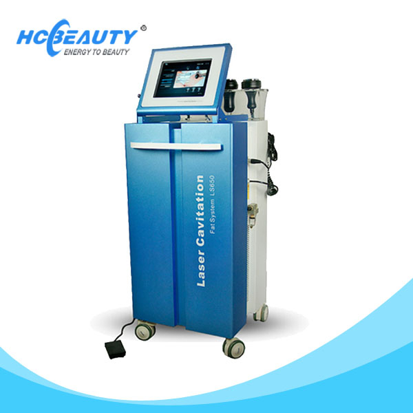 best vacuum cavitation weight loss equipment/belly fat removal machine for slimming