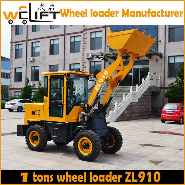 Small wheel loader 1 ton
