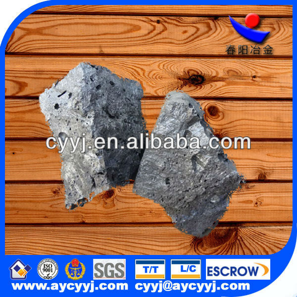 Silicon Calcium metal for steel making Si40-60,Ca28-32