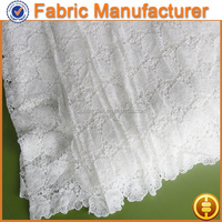 100% Cotton Material and Embroidered Technics italian lace fabric african chemical water soluble lace chemical lace fabric
