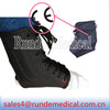 Black lace-up ankle band,ankle support,ankle immobilizer