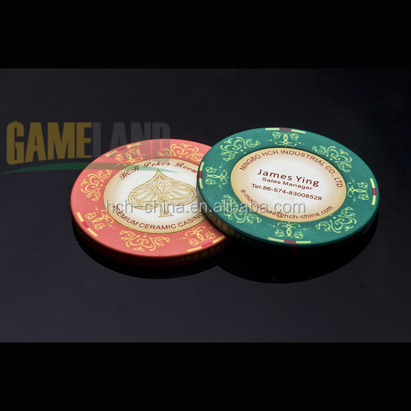 Ceramic Poker Chip Gambling Chip Casino Chips