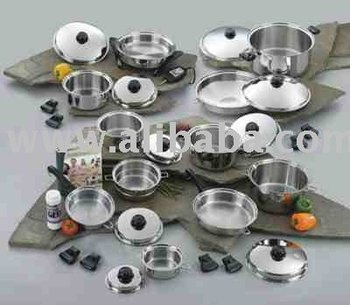 Sugical Steel & Titanium non-toxic Cookware Sets