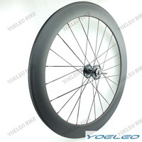 Yoeleo Super Light Weight Rear Track Single Carbon Wheel Tubular 60mm