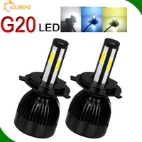 auto accessories, super bright G6S LED headlight h4 80w 40w 12v 8000lm hid xenon replacement h7 high low beam h4 h13 9004 9007