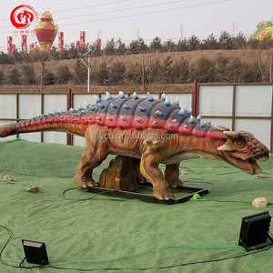 Outdoor Amusement Park decorate animated life size dinosaur