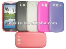 Matte TPU Gel Skin Cell Phone Case For SamSung i9300 Galaxy S3