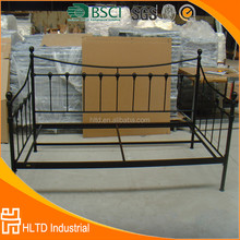 Latest design metal sofa cum bed,metal sofa bed frame