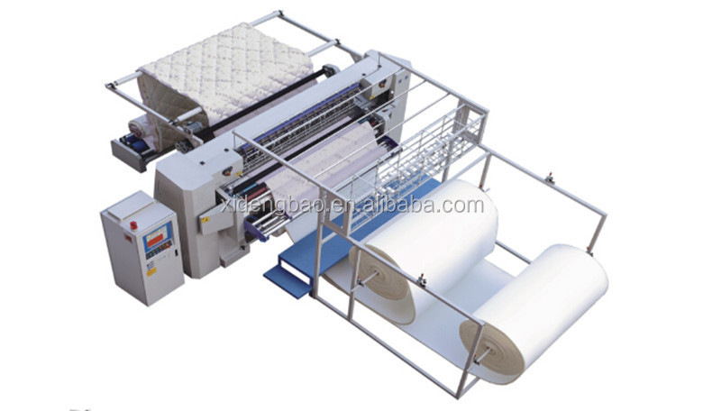 HY-W-SJ High Speed Chain Stitch Multi-needle Mattress Quilting Machine and Mattress Quilter