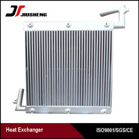 Digging Machine Oil Cooler SH60A1 For Heat Exchanger Hydraulic Cooling System