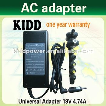 laptop battery AC adapter WN1-19V4.74A for DELL