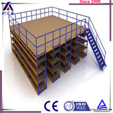 Anti-seismic mezzanine floor metal shed storage buildings