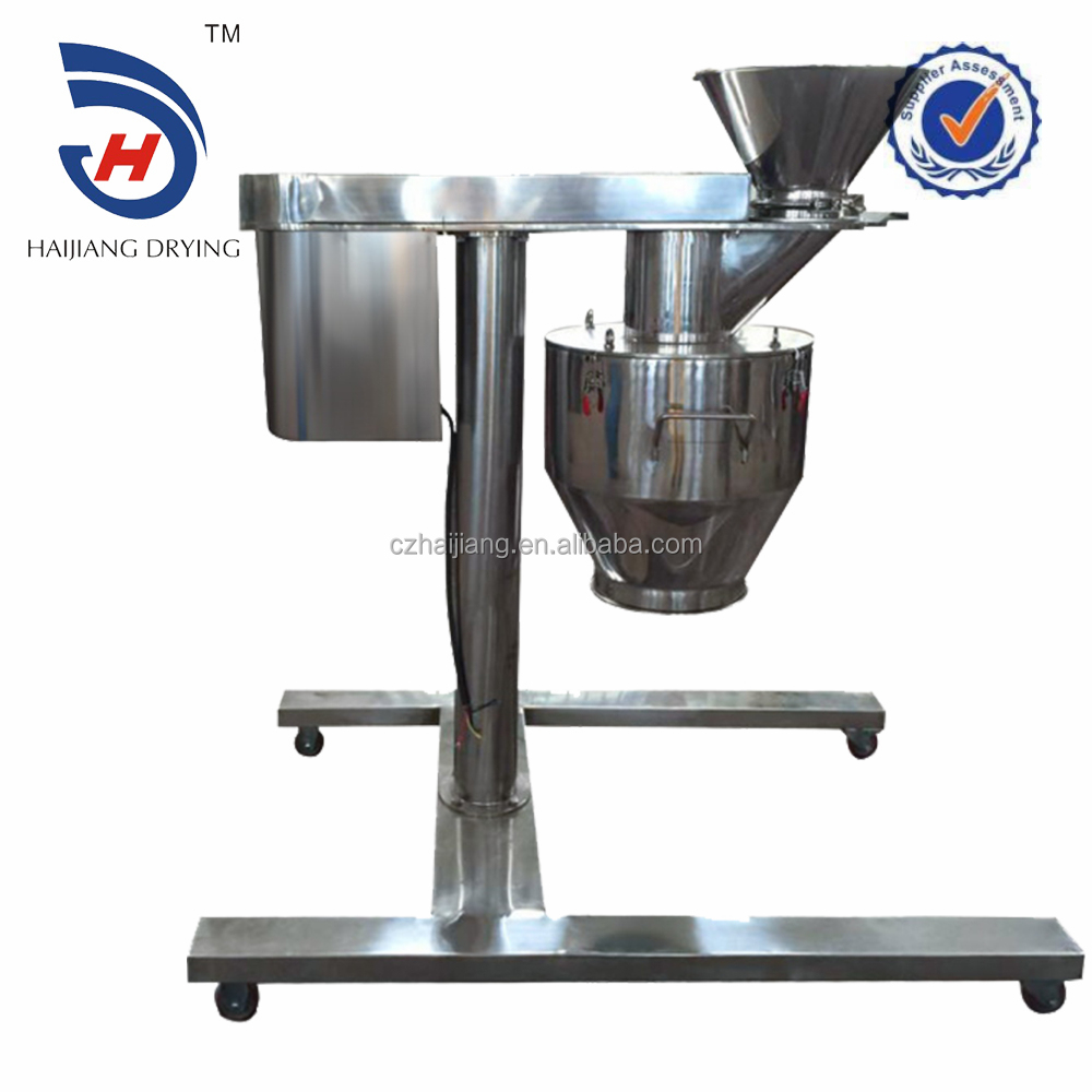 High speed grinding granulating machine for foodstuff with ce mark