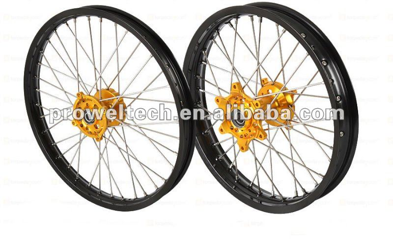 MX motorcycle spoke wheels/ CRF wheels