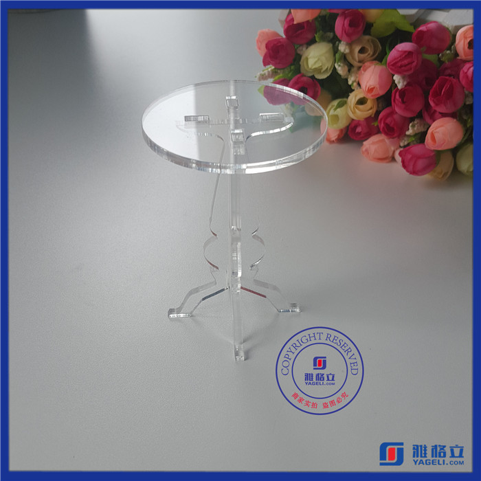 Wholesale acrylic display for cakes & cup cake display stand / bread display case