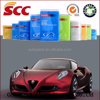 factory price 2K epoxy primer car rubber paint