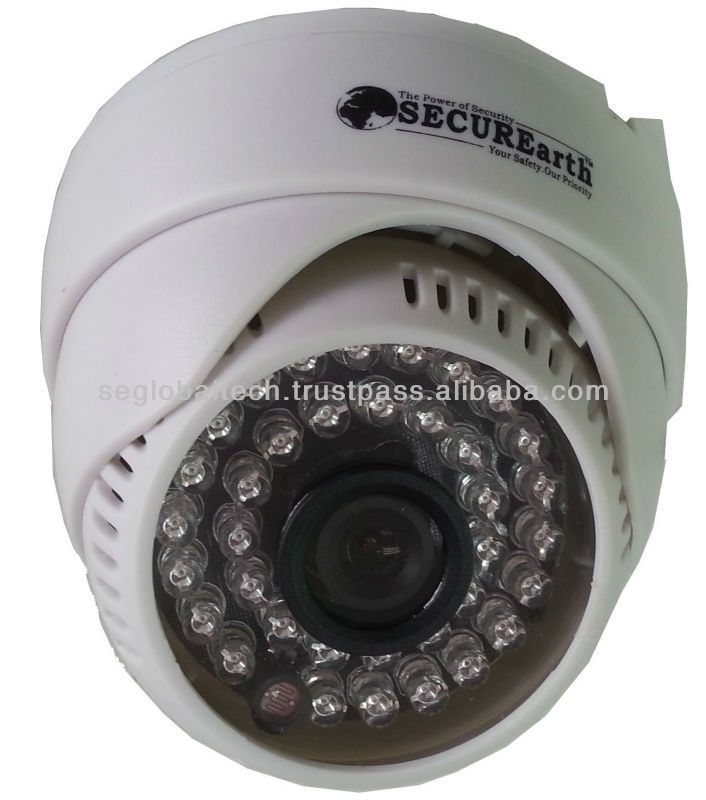CCTV Camera- SONY 650TVL 3.6mm IR Dome Camera 35LED SECUREarth SEIRDS356