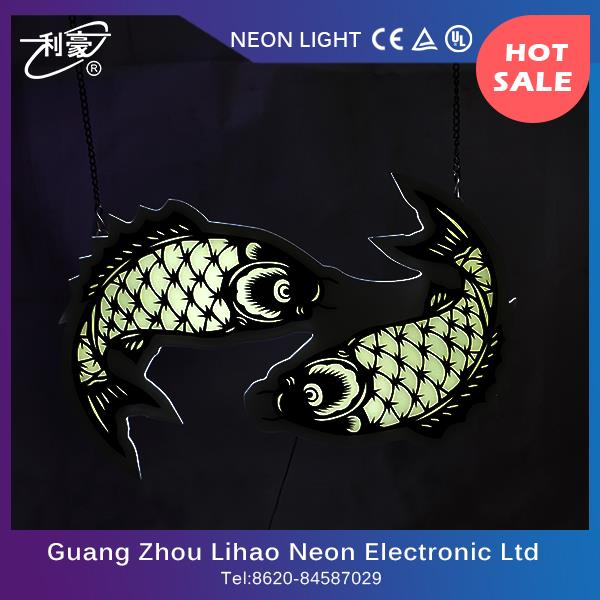 China supplier display led lighting sign with high efficiency
