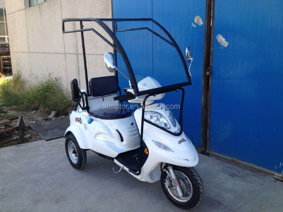 125cc handicapped three wheel scooter