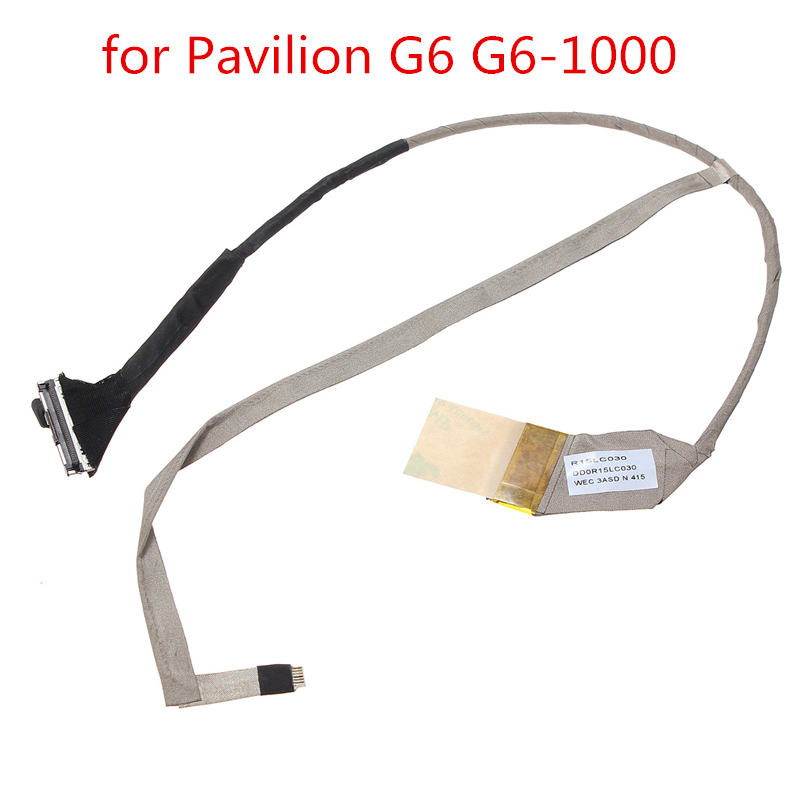 New Wholesale Price LCD LED Video Cable For Pavilion G6 G6-1000 R15LC030 DD0R15LC030 Laptop