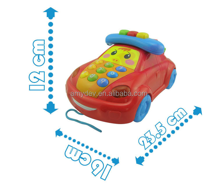 Baby game Happy Little Car-benefits with music and light for baby