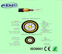 ADSS Fiber Optic Cable Thunder-proof Cable 2-288cores