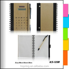 Agenda Diary Organizer Notebook with calculator