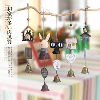 High Quality Decorative Wholesale Ceramic Japanese Style Wind Chime for Display