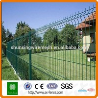 Cheap PVC Coated Metal flower bed fencing 1m