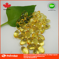 OEM brand garlic oil softgel capsule
